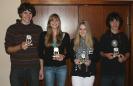 Jugendspieler 2009 - Robin Lürtzing, Nathalie Mencke, Maike Orth und  Timon Westermann